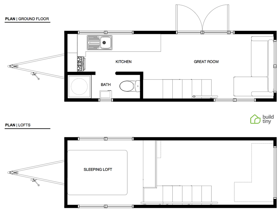 Small Section House Plans Nz Part - 18: Boomer Tiny House Layout
