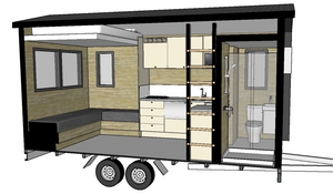 3D model of Build Tinys Camper model