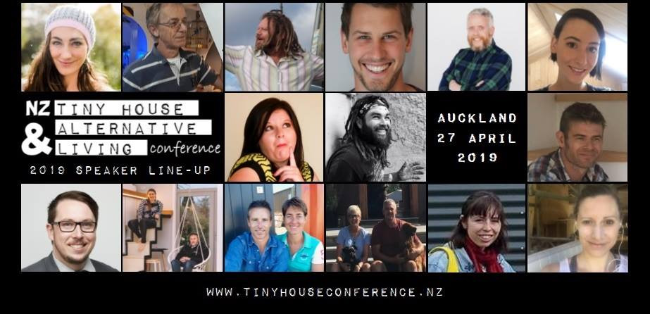 Tiny house and alternative living conference line up.