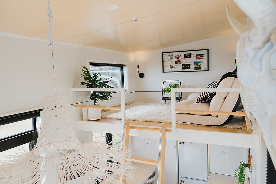 Lounge loft with sea views