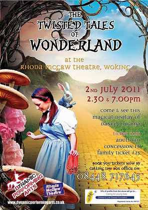The Twisted Tales of Wonderland - Show P