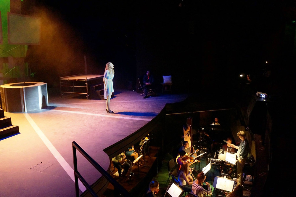 Drew Nichols conduct musical theatre composer