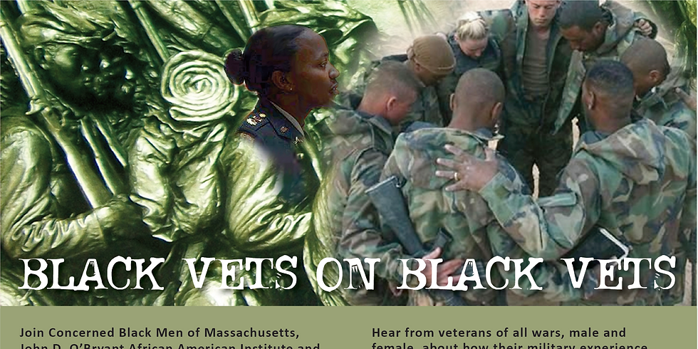 Black VETS on Black VETS - Help Redefine the Relevancy of Military Service for the Black Man & Woman!