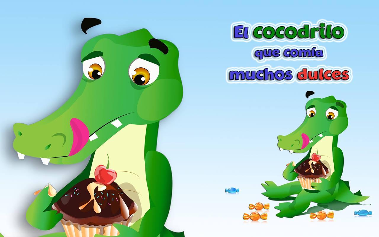 ¡El cocodrilo que comía muchos dulces!