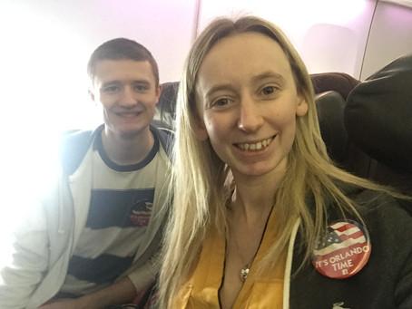 Orlando Trip - Day 1 - Travel Day