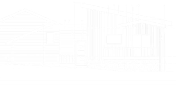 Elevation drawing of private residence