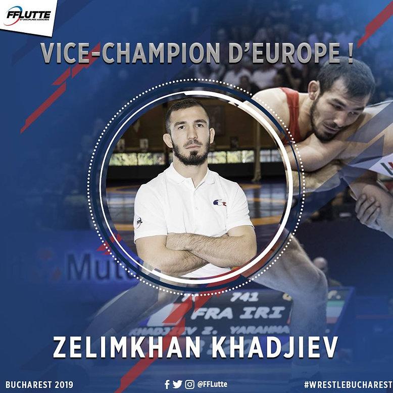 2019_04_10 Zelim Vice-Champion d'Europe.