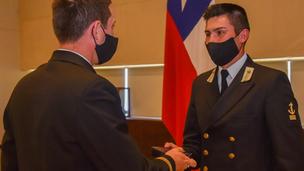 """Tradicional Ceremonia General de Premios 2020 en Escuela Naval """"Arturo Prat"""""""
