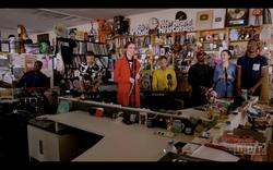 Tiny Desk Concert出演!