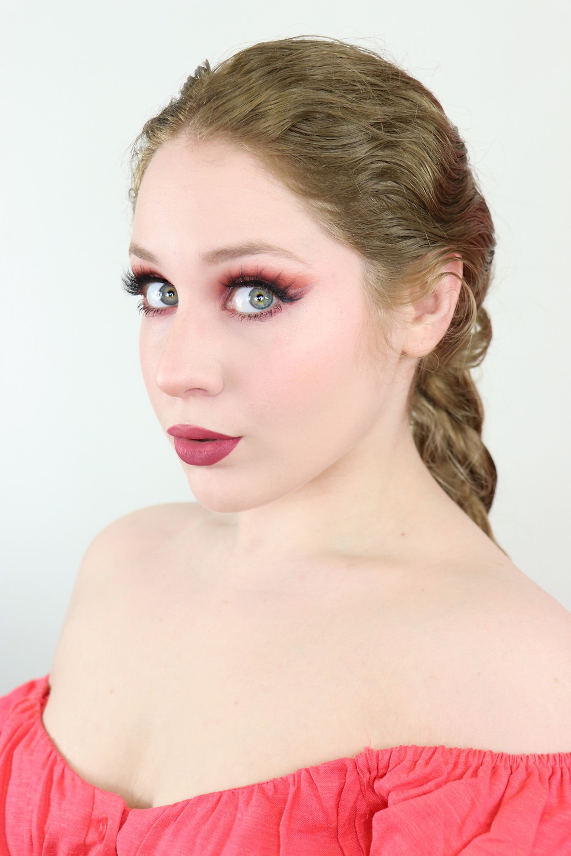 Essence Olá Rio Coral Cut Crease Makeup Tutorial 2020 | Lillee Jean