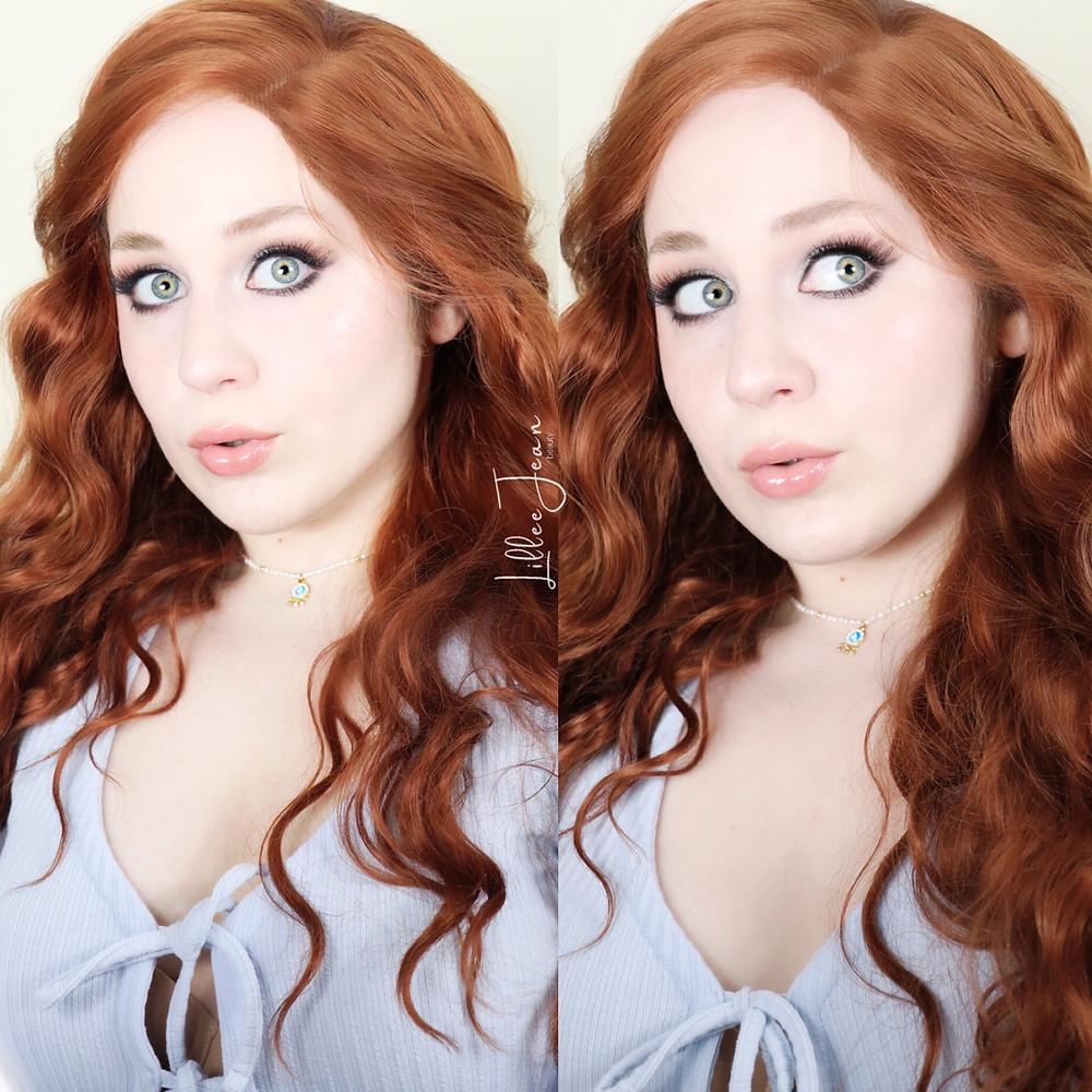 Mean Girls CADY Blue Eyeshadow Makeup Tutorial 2021 | Lillee Jean
