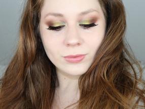 Colourpop x Kathleenlights SO JADED Green & Blue Autumn Makeup TUTORIAL | Lillee Jean