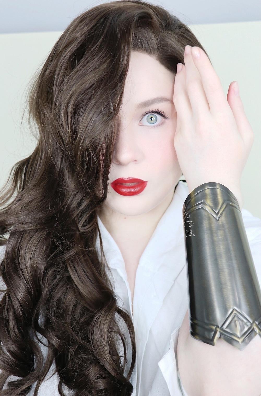 Wonder Woman 1984 WHITE Goddess DRESS CRUELTY FREE Makeup Tutorial 2021 | Lillee Jean