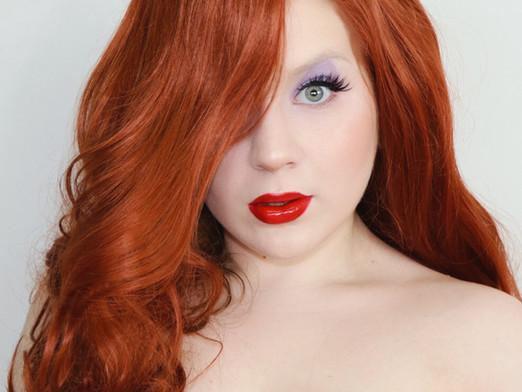 Jessica Rabbit Makeup Tutorial 2020 | Lillee Jean