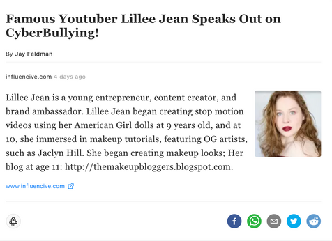 Lillee Jean on Influencive.com