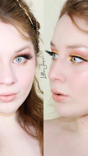 Pantone Illuminated Neon Yellow Essence Hey L.A. Makeup Tutorial 2021 | Lillee Jean