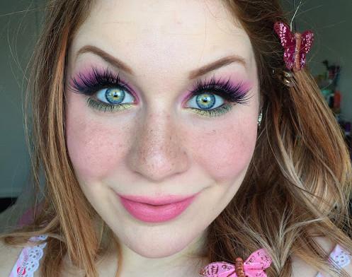 Mythology: Springy Meadow Nymph Makeup Tutorial