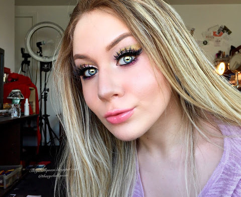 Tangled: Rapunzel Golden Cut Crease Makeup Tutorial 2016   lillee Jean