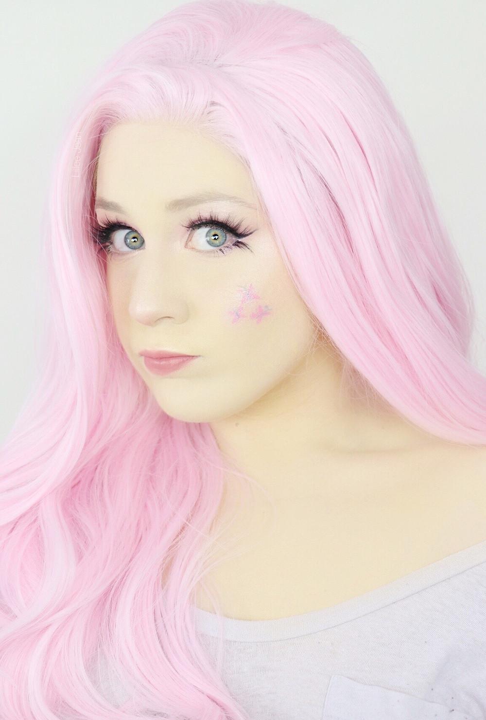 FLUTTERSHY My Little Pony Cosplay Makeup Tutorial Halloween 2020 | Equestria Girls | Lillee Jean