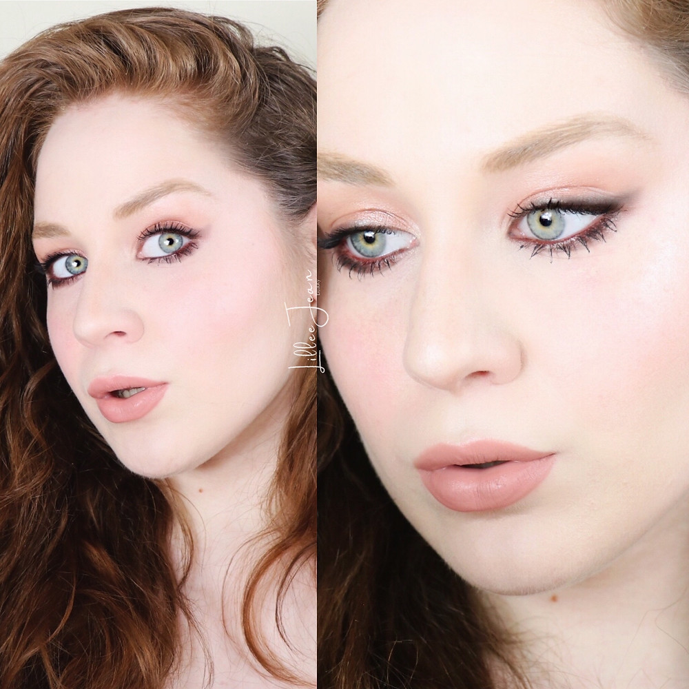 HOW I DID MY MAKEUP IN HIGH SCHOOL Challenge 2021 | Lillee Jean