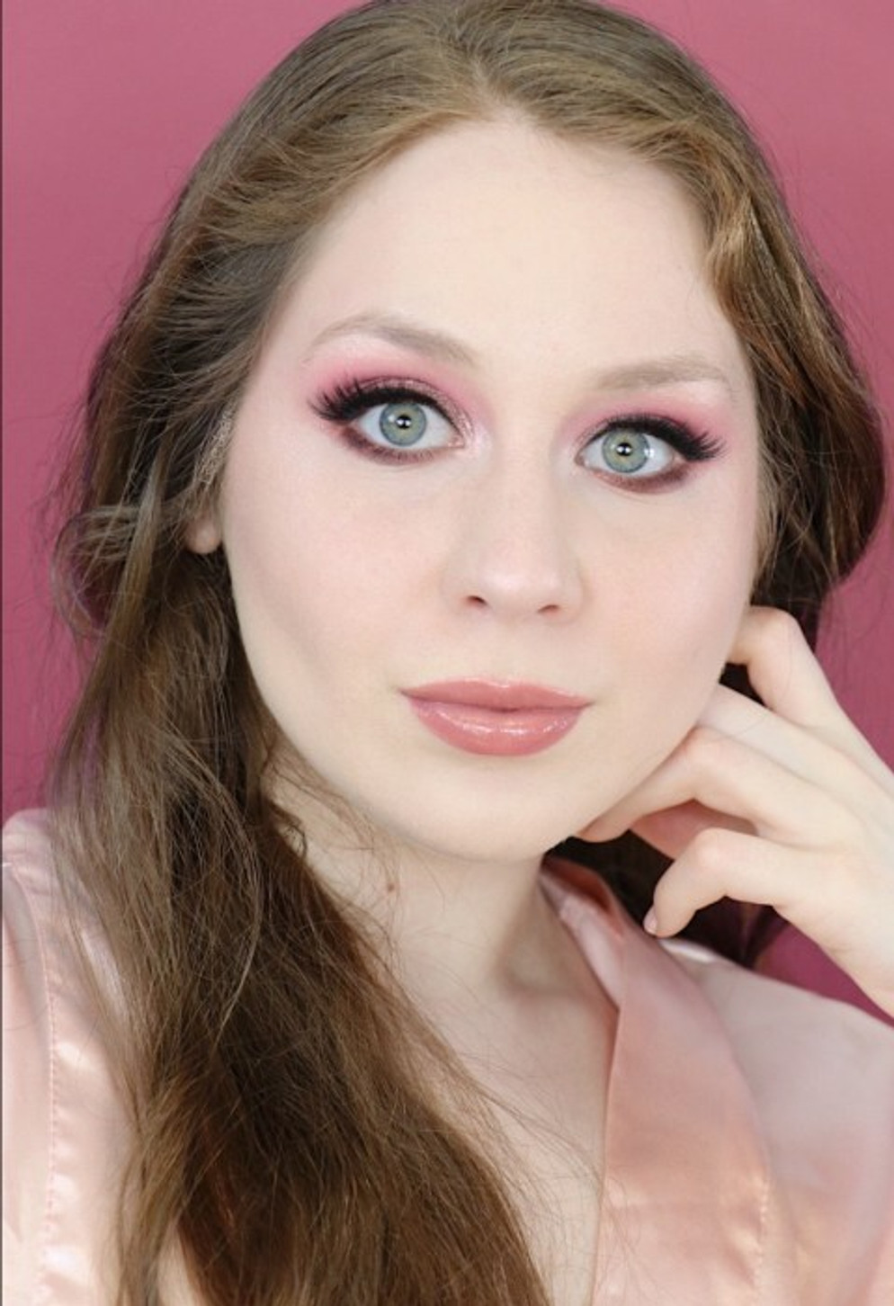 Valentine's Day Glittery Pink Makeup Tutorial 2020 | Lillee Jean