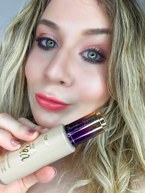 Tarte Rainforest of the Sea: Water Foundation SPF 15 Review and Swatches | Lillee Jean