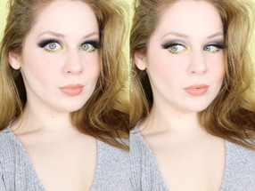 Pantone 2021 COLOR OF THE YEAR Grey and Yellow Makeup Tutorial | Lillee Jean