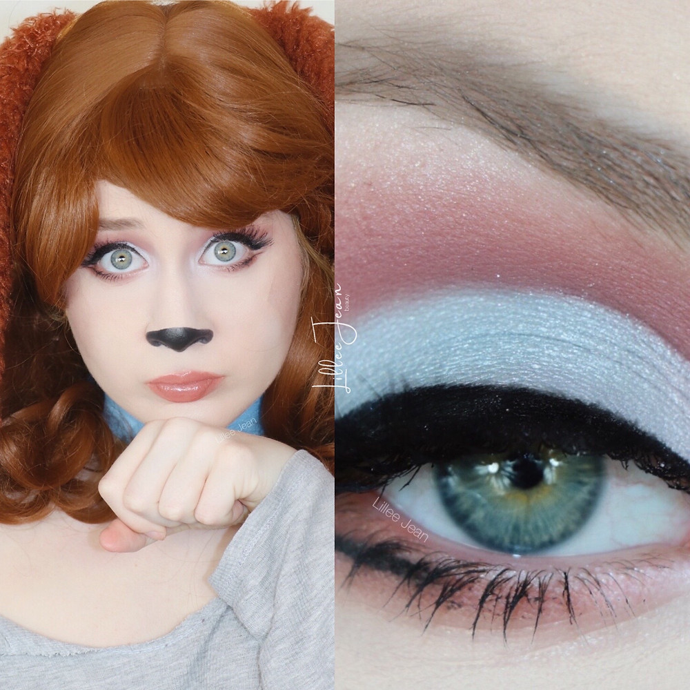 Disney Lady Inspired GLAM Puppy Dog Halloween Makeup Tutorial 2020 | Lillee Jean