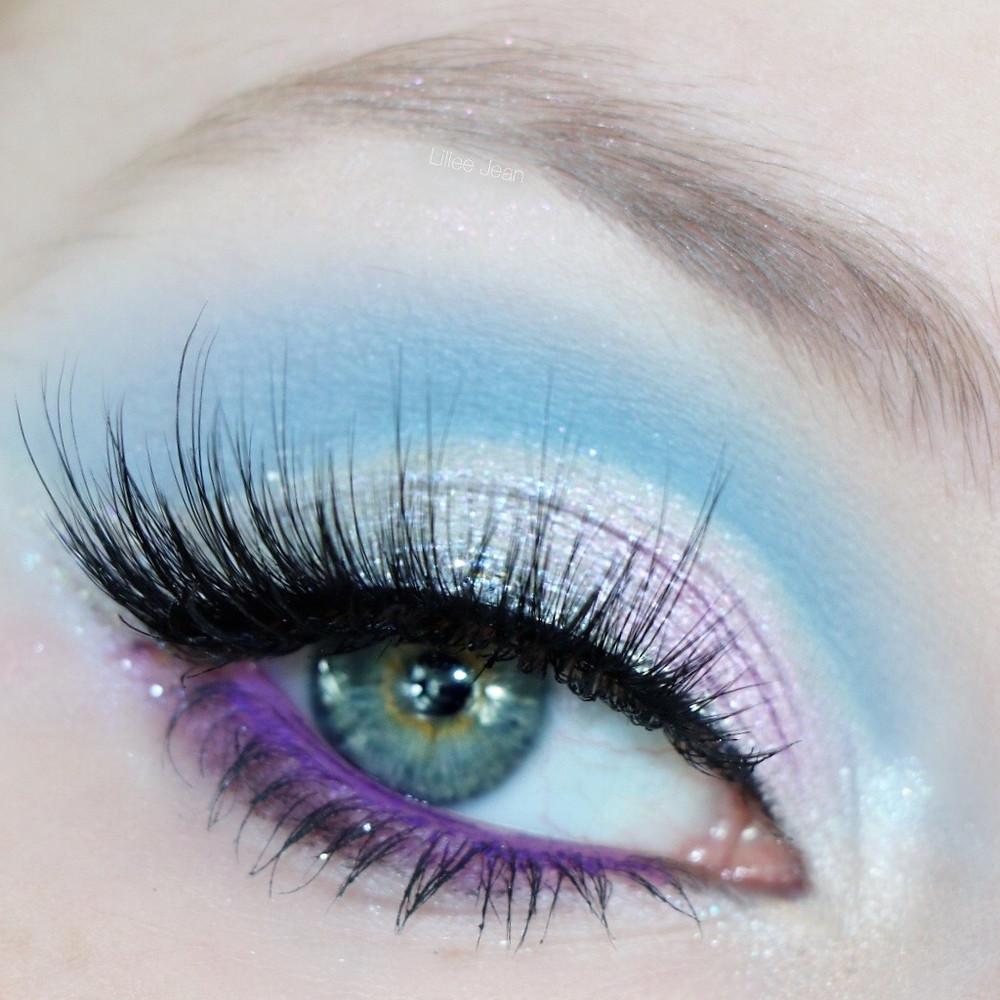 Cancer Zodiac Morphe 35I Blue Cut Crease Makeup Tutorial | Lillee Jean
