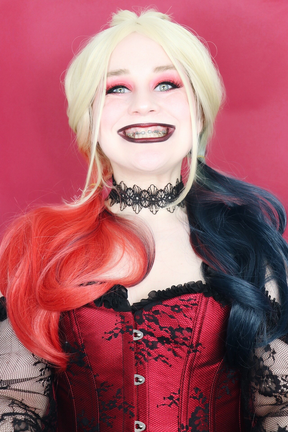 Harley Quinn 'The Suicide Squad' Makeup Tutorial | Too Faced Mini 2021 | Lillee Jean