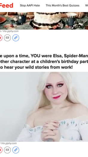 Lillee Jean's Elsa Gif Featured in Buzzfeed