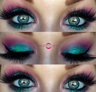 Disney Princess Ariel Inspired Glittery Halloween Makeup Tutorial 2016   Lillee Jean