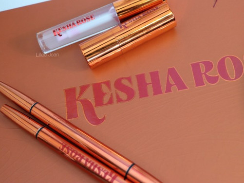 KESHA ROSE BEAUTY Collection SWATCHES | LILLEE JEAN