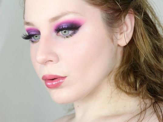 Nyx Ultimate Utopia PURPLE DRAMATIC Halo Eye Makeup Tutorial 2020 | Lillee Jean