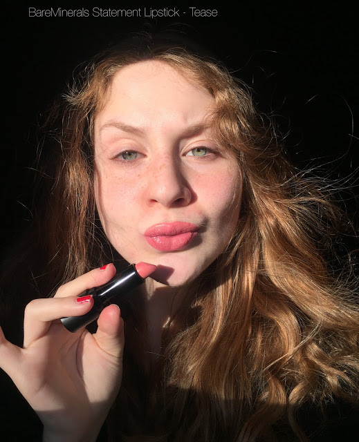 bareMinerals Statement Lip Collection SWATCHES 2017 | Lillee Jean