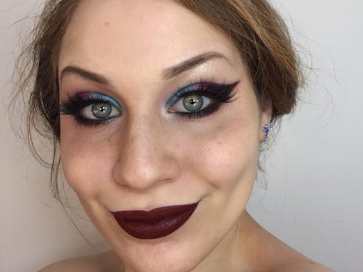 Dark Patriotic Red White & Blue Makeup Tutorial