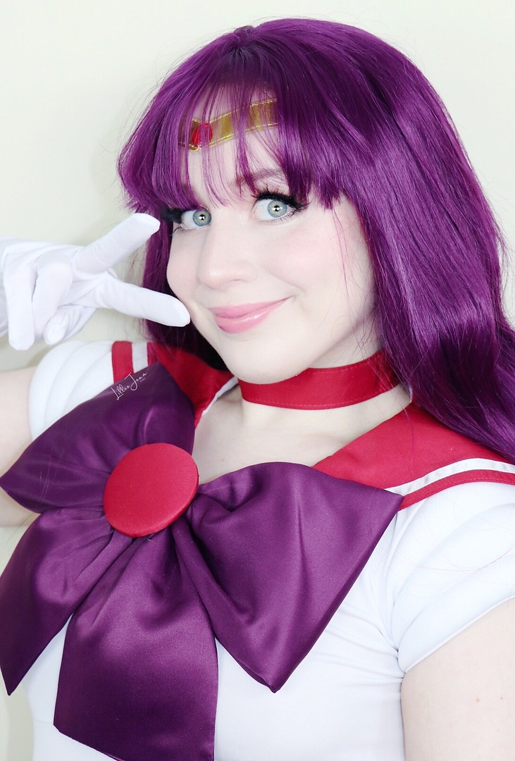Lillee Jean Sailor Mars Cosplay