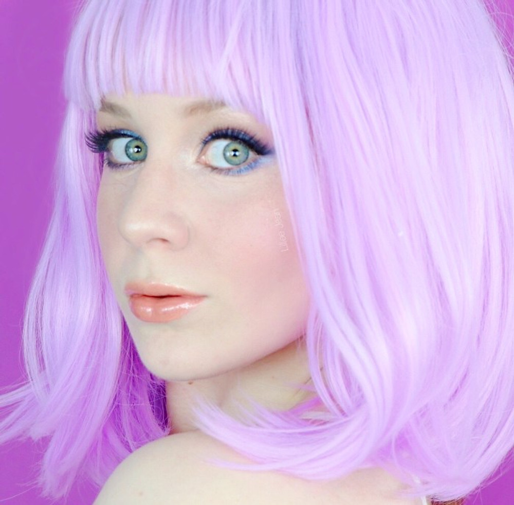 ASHLEY O Buxom Cosmetics Inspired Halloween Makeup Tutorial | Lillee Jean