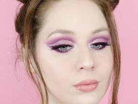Huda Beauty Nude Obsessions Light Purple Cut Crease Makeup Tutorial 2020 | Lillee Jean