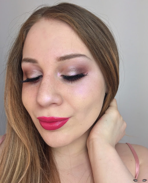Valentine's Day: Wearable Mauve Smokey Eye With Icy Pink Highlights 2017 | Lillee Jean