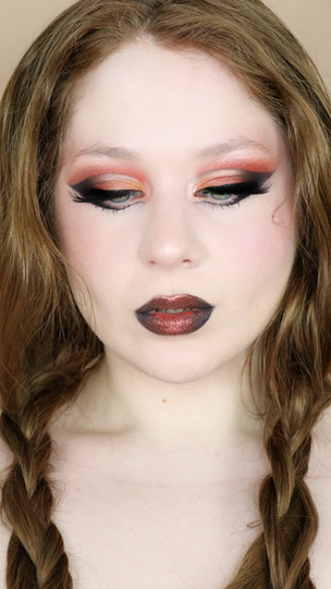 Too Faced Gingerbread Spice HALLOWEEN Glittery CUT CREASE Makeup Tutorial 2020 | Lillee Jean