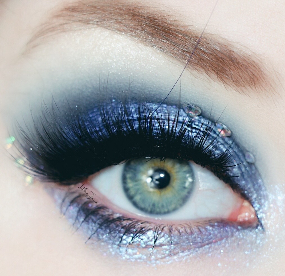 Barbie Nori Mermaidia L.A. Girl Mainstage Blue Makeup Tutorial 2021 | Lillee Jean