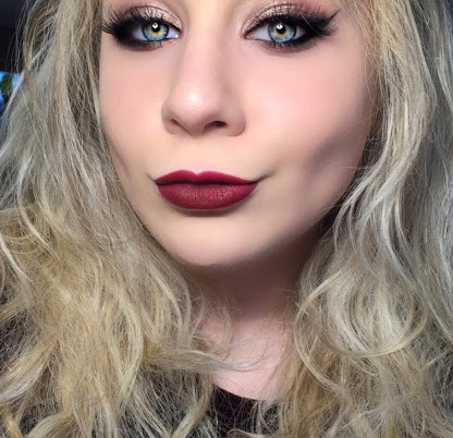 Shimmery Thanksgiving Makeup