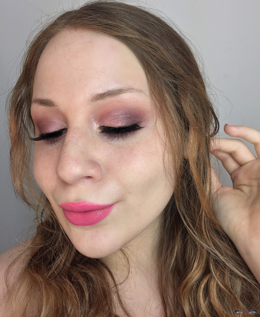 Valentine's Day: Romantic Peach & Pink Dewy Skinned Makeup Look 2017   Lillee Jean