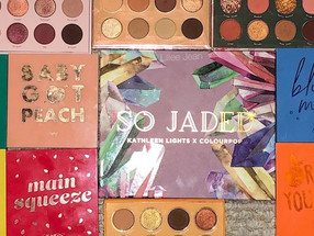 Kathleenlights X Colourpop So Jaded COMPARISON SWATCHES | Lillee Jean