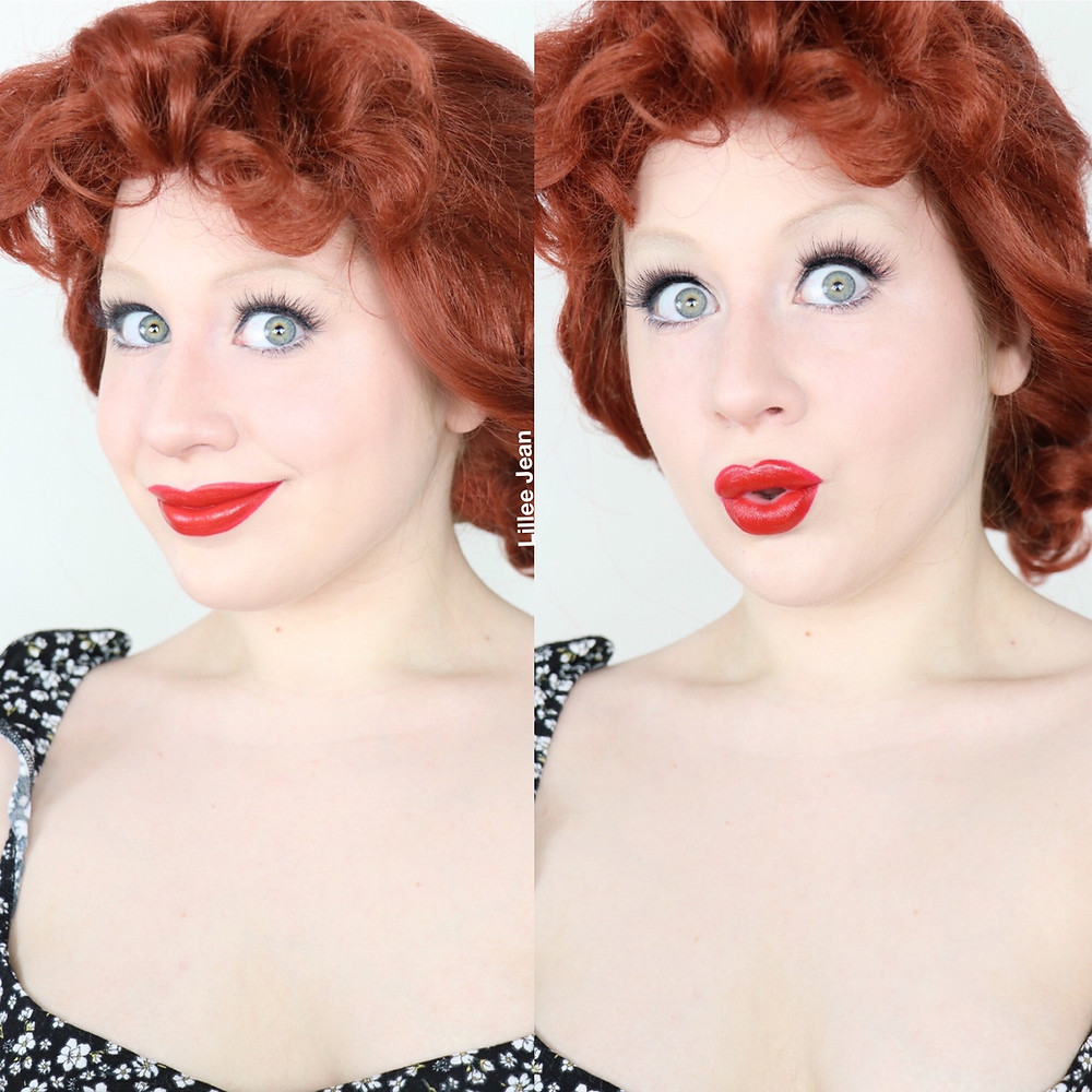 Lucille Ball Makeup Tutorial Classic OLD HOLLYWOOD 2020 | Lillee Jean