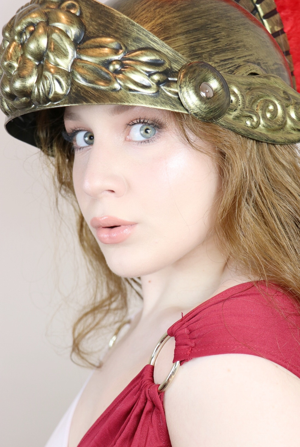 Athena Greek Goddess Makeup Tutorial | GLASS SKIN 2020 | Lillee Jean