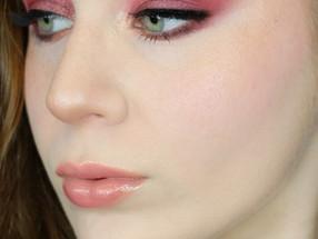 Natasha Denona LOVE Shimmery Pink Valentines Day Makeup Tutorial 2020 | Lillee Jean