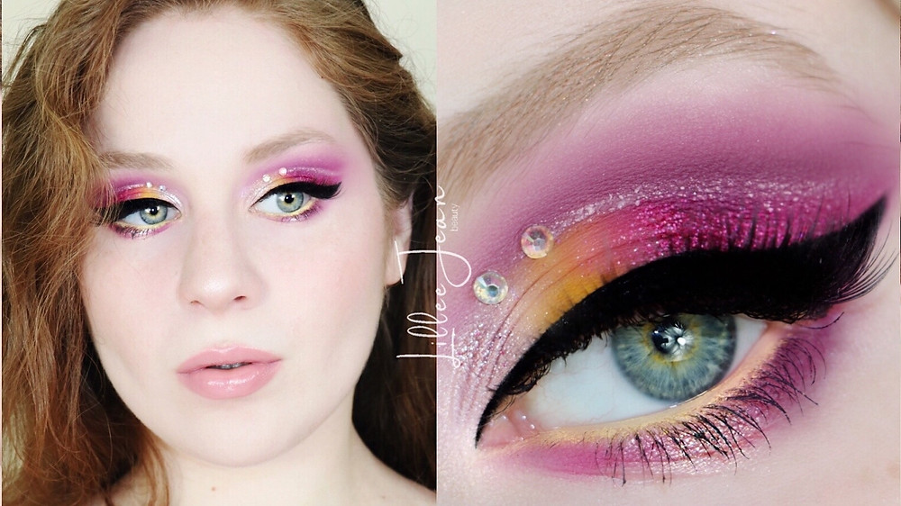 Purple and Yellow Eyeshadow | Makeup Revolution Birds of Paradise Tutorial 2021 | Lillee Jean