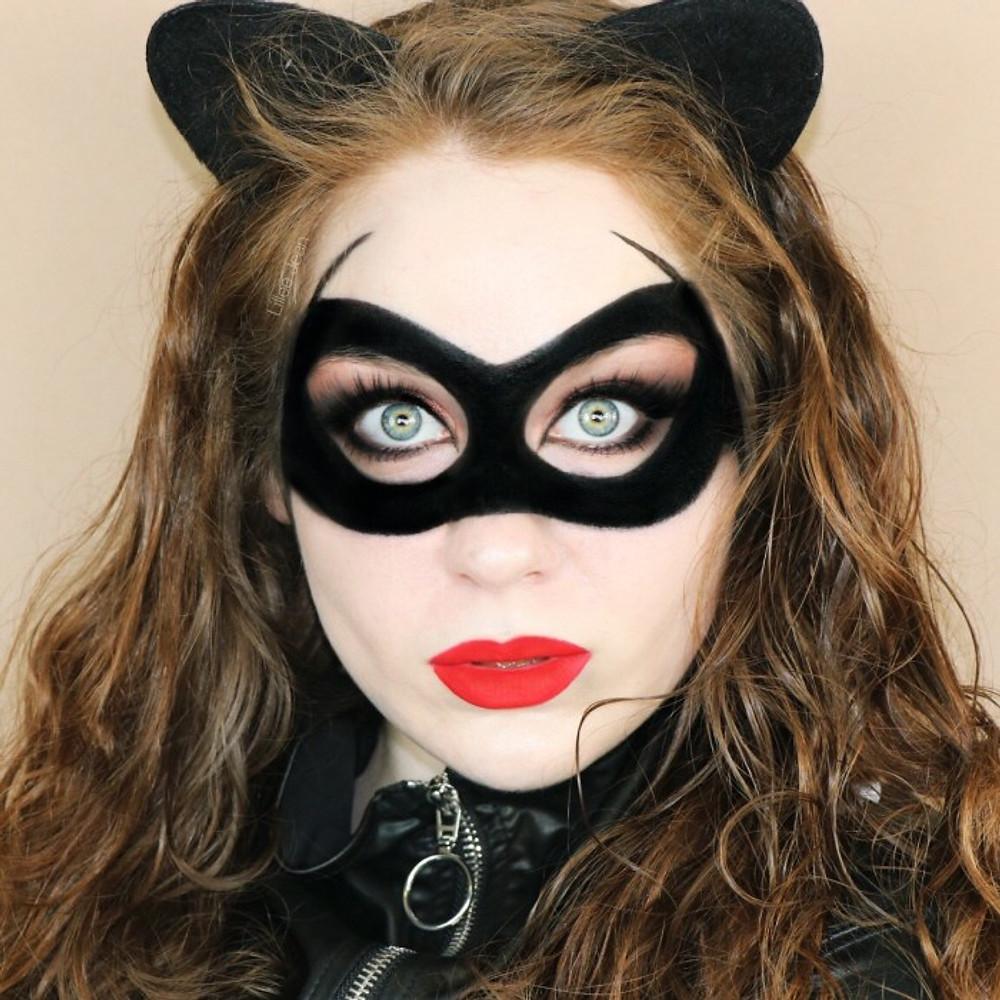 Catwoman Makeup Tutorial Halloween 2019 | Lillee Jean